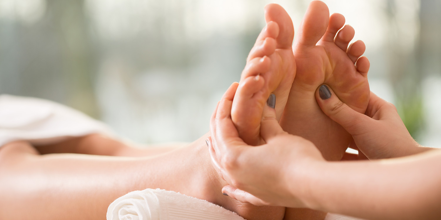 Reflexology is one of the many services offered at Holt Consulting Rooms, a North Norfolk health and wellbeing practice